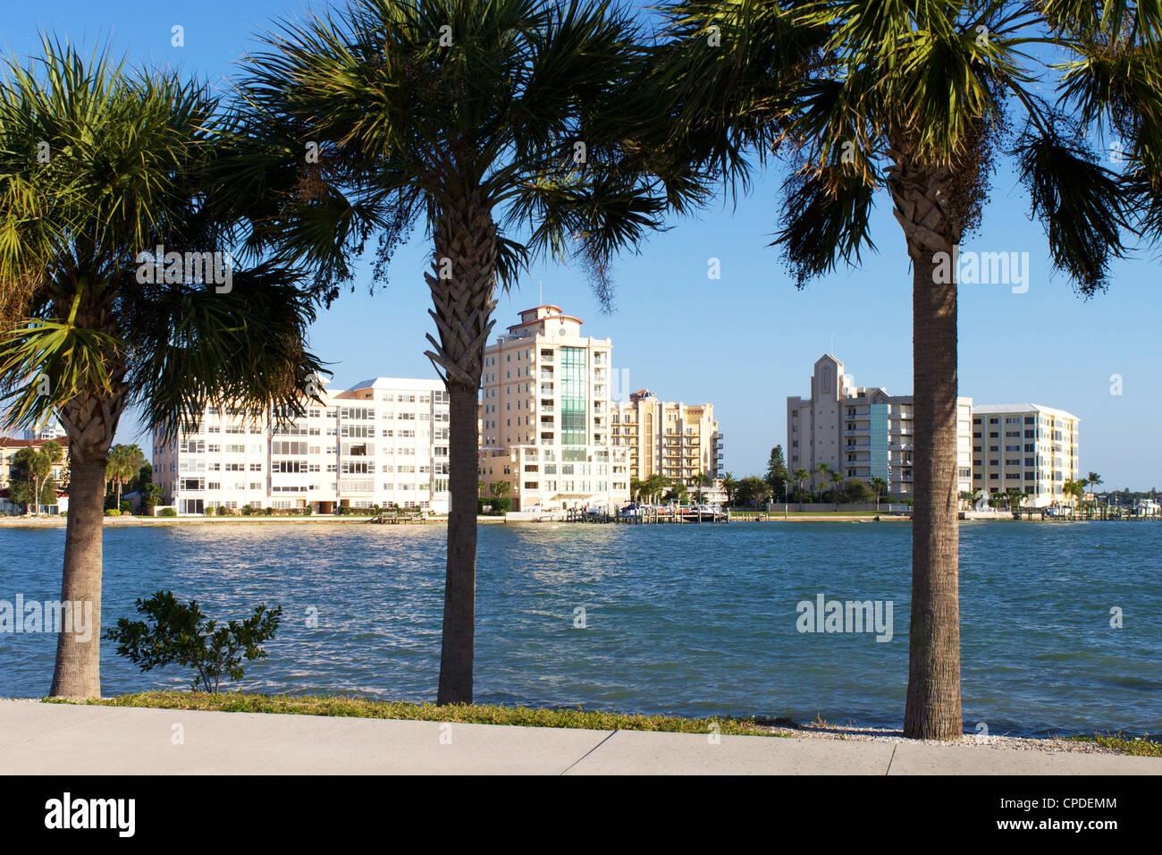 Sarasota, Gulf Coast, Florida, United States of America, North America - Stock Image