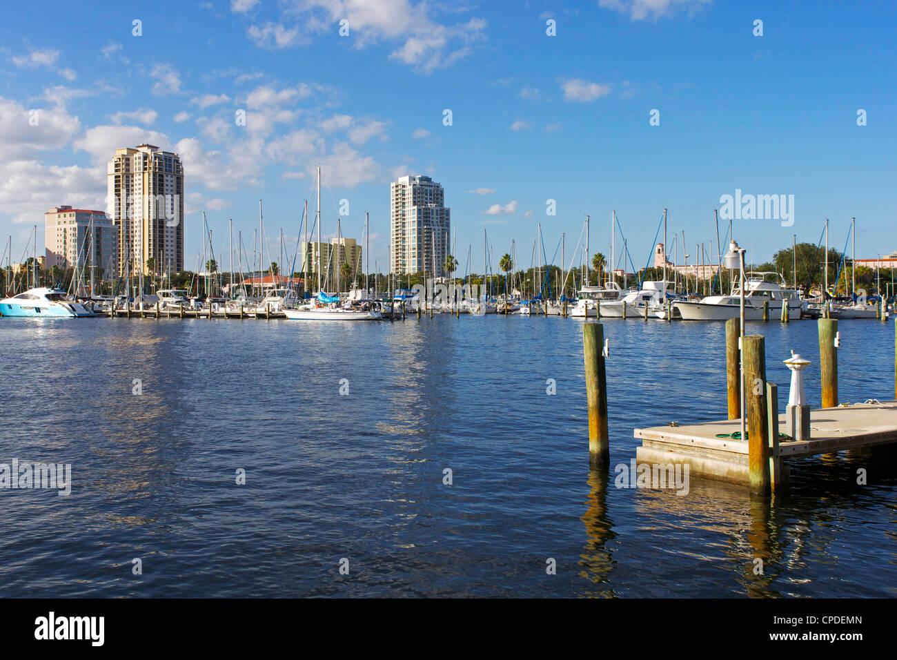 St. Petersburg, Gulf Coast, Florida, United States of America, North America - Stock Image
