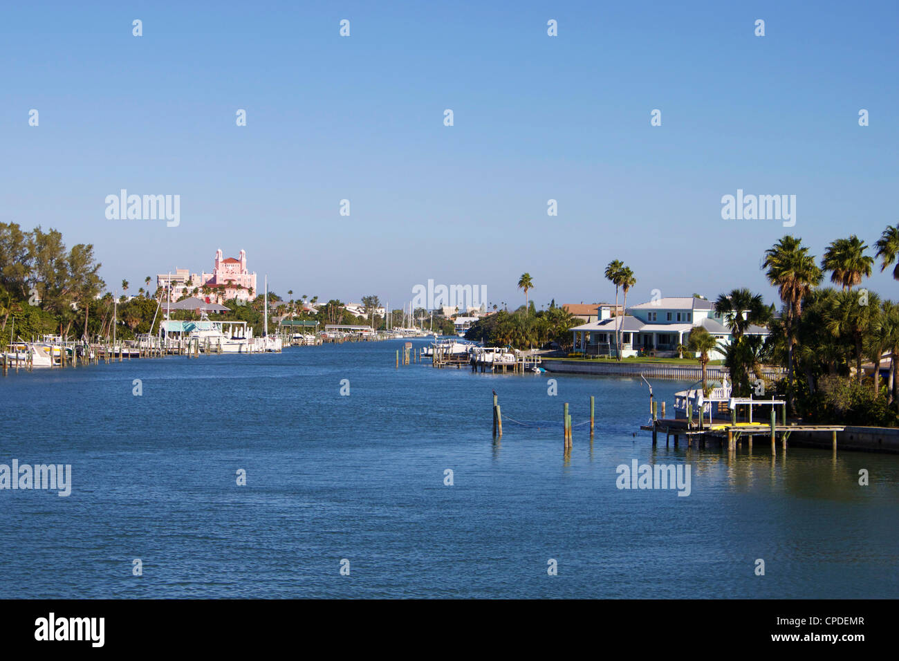 Pass A Grille, St. Petersburg Beach, Gulf Coast, Florida, United States of America, North America - Stock Image