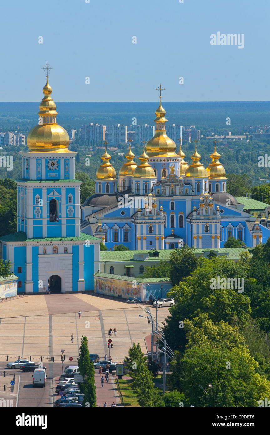 St. Michael's Church, Kiev, Ukraine, Europe Stock Photo