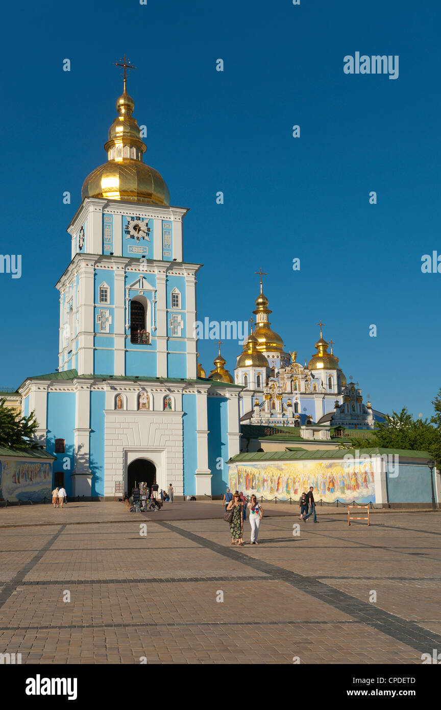 St. Michael's Church, Kiev, Ukraine, Europe - Stock Image