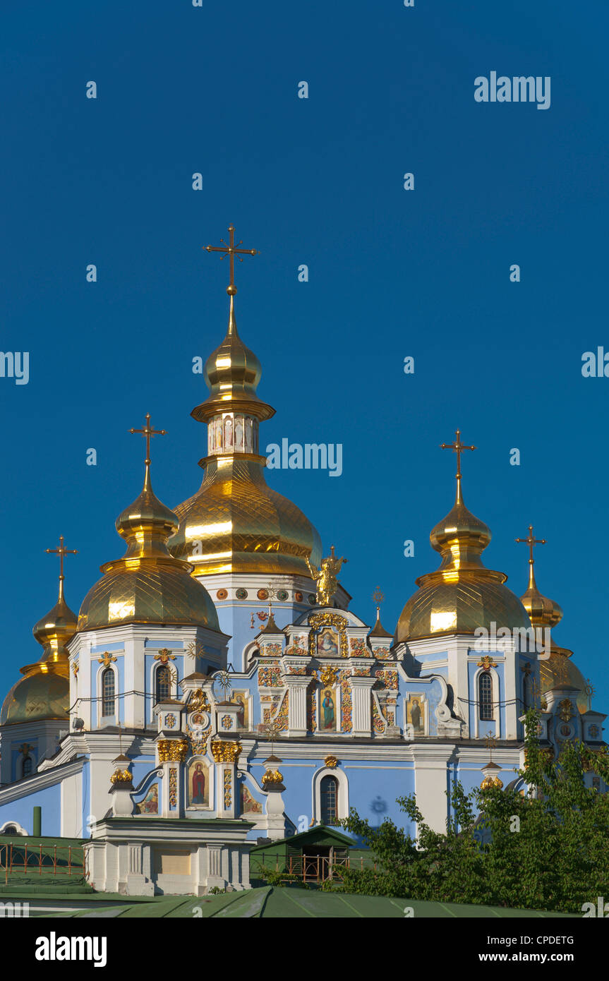 St. Michael's Church, Kiev, Ukraine, Europe - Stock Image