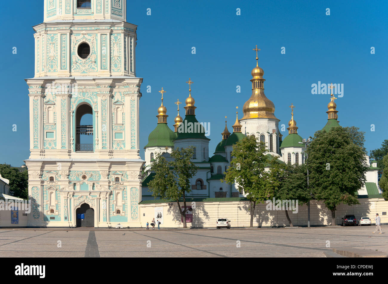 Sofia Square, Kiev, Ukraine, Europe - Stock Image