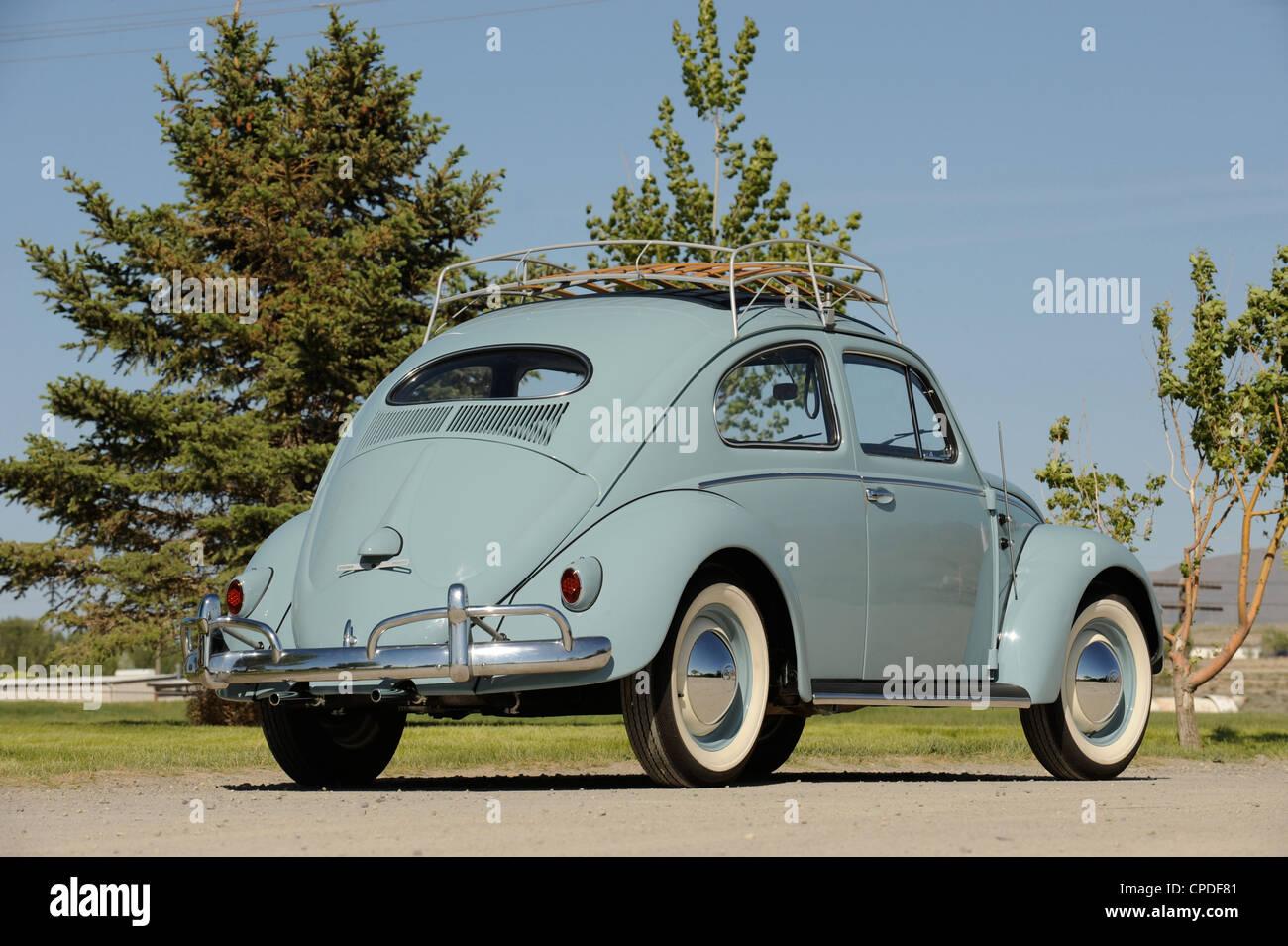 1957 Volkswagen Beetle - Stock Image