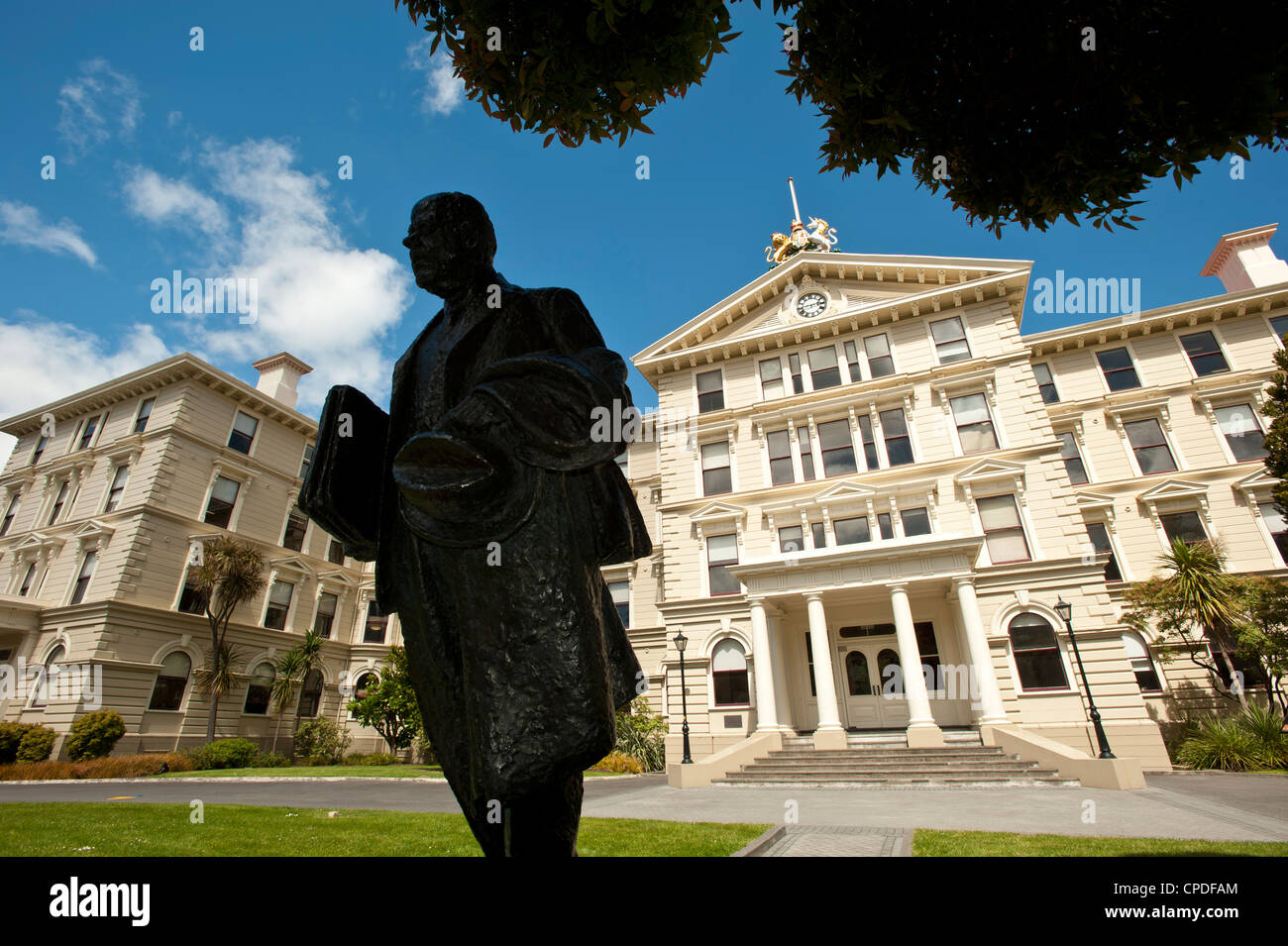 Government buildings, Wellington, North Island, New Zealand, Pacific - Stock Image