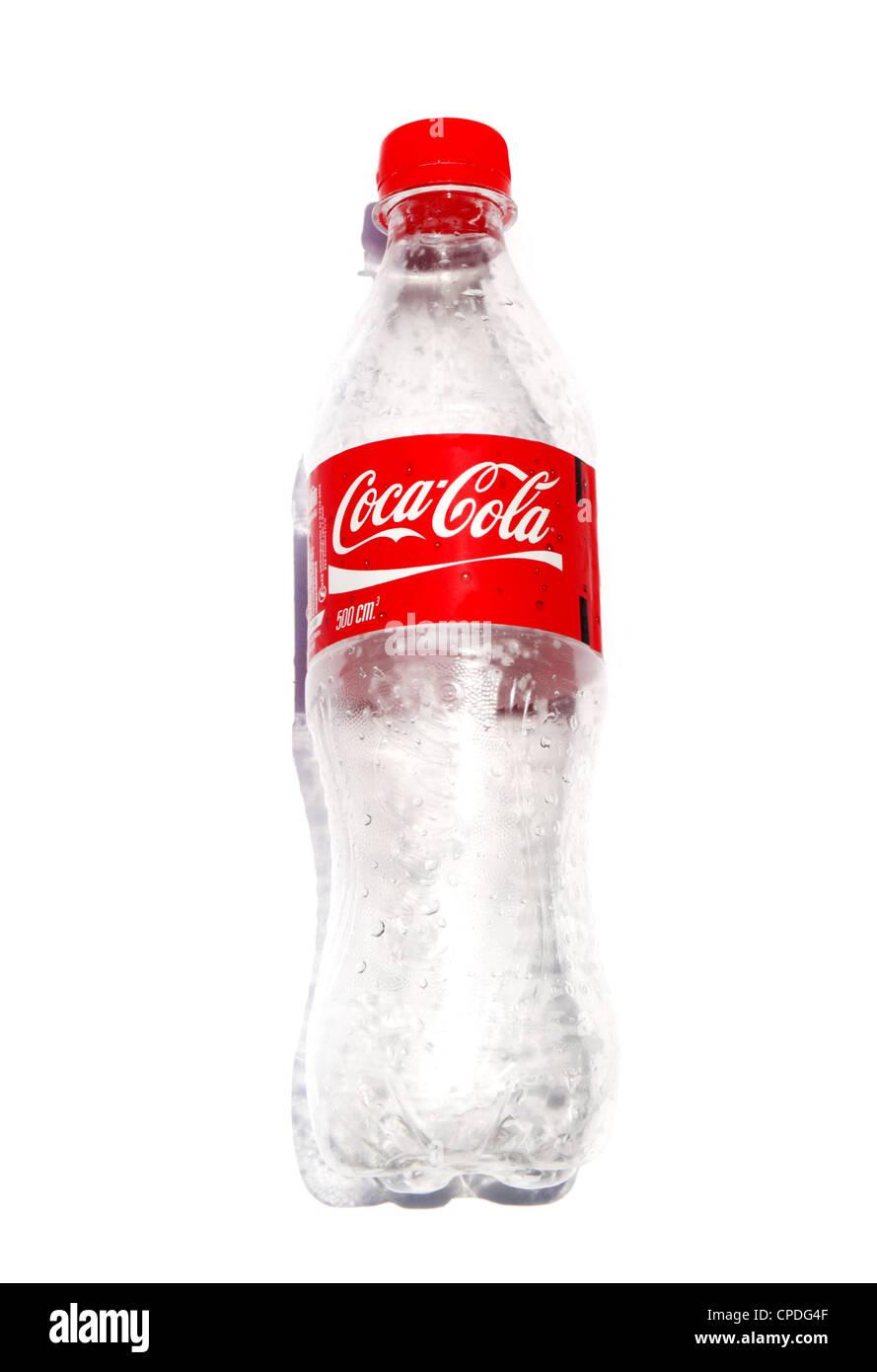 empty plastic coke bottle stock photo 48241215 alamy