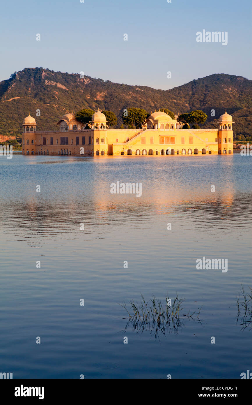 The Jai Mahal (Lake Palace), Jaipur, Rajasthan, India, Asia - Stock Image