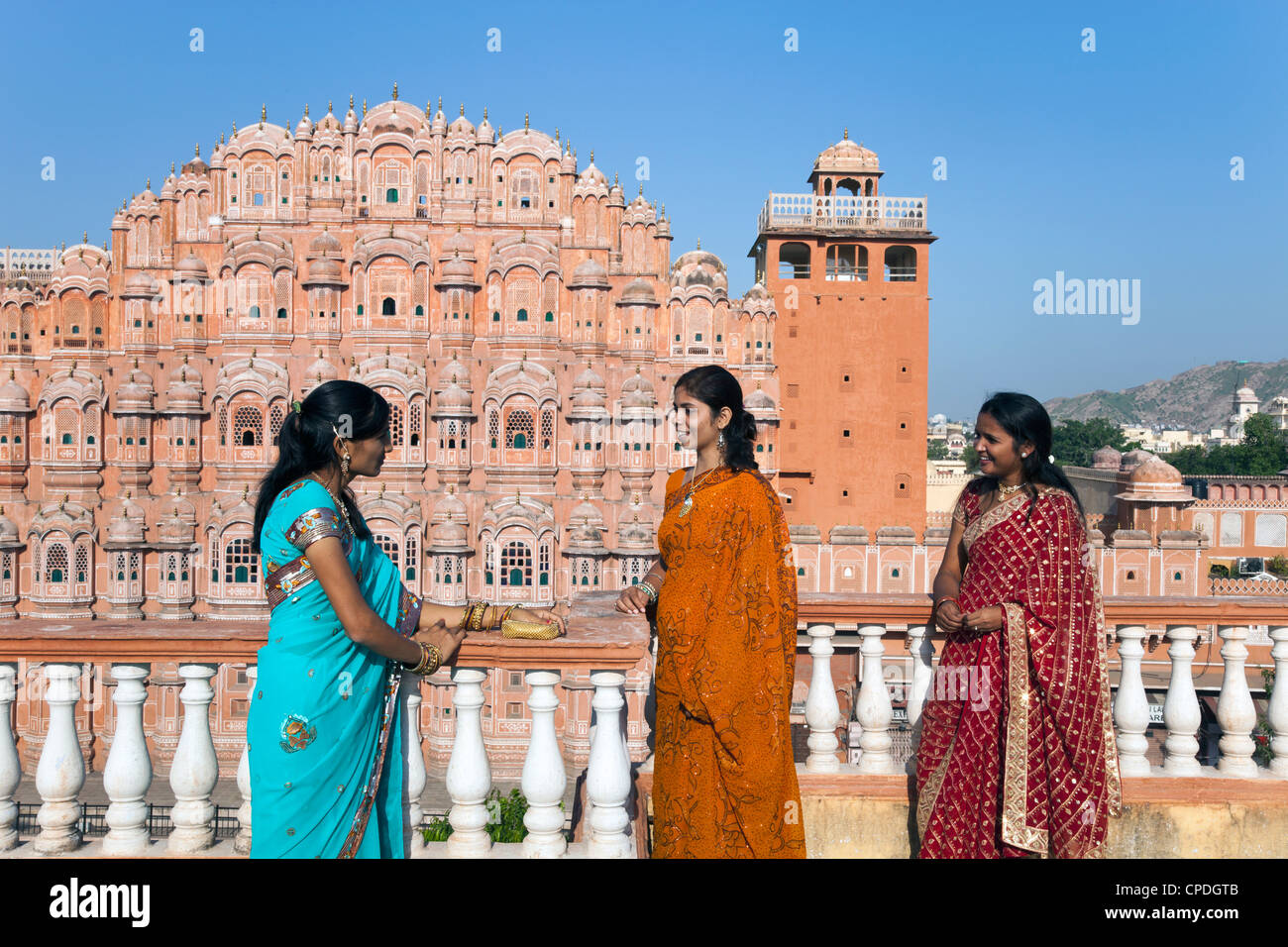 Hawa Mahal (Palace of the Winds), built in 1799, Jaipur, Rajasthan, India, Asia - Stock Image