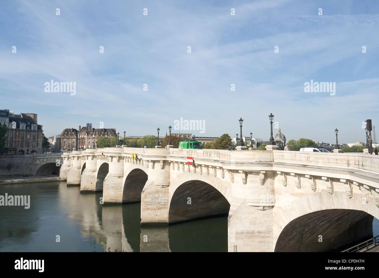 Pont Neuf, Paris - Stock Image