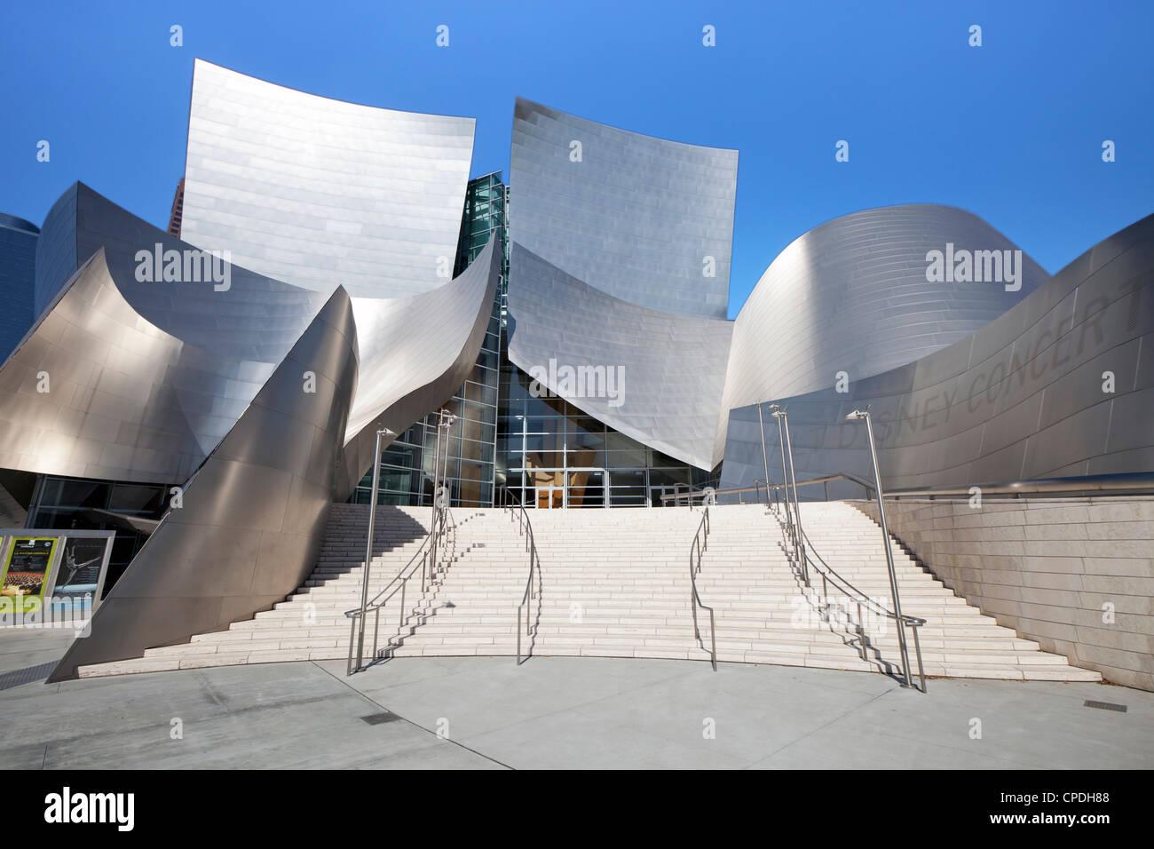 Walt Disney Concert Hall, Los Angeles, California, United States of America, North America Stock Photo