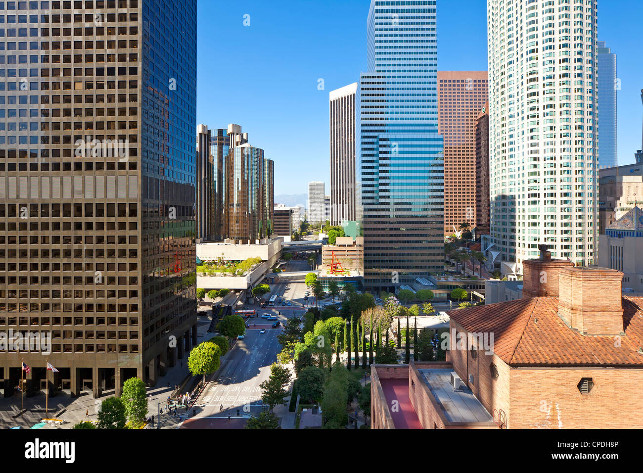 Downtown, Los Angeles, California, United States of America, North America - Stock Image