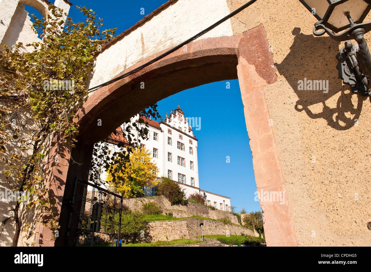 Colditz Castle, Colditz, Saxony, Germany, Europe - Stock Image