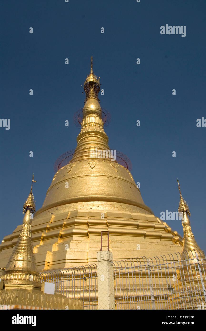 Botataung Pagoda, Yangon (Rangoon), Myanmar (Burma), Asia Stock Photo