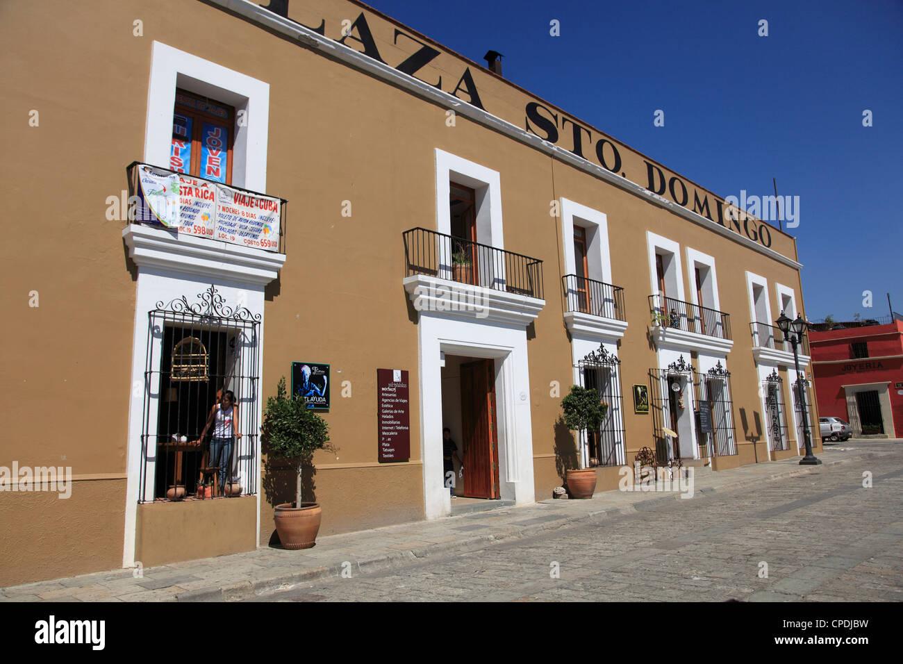 Colonial architecture, Oaxaca City, Oaxaca, Mexico, North America Stock Photo