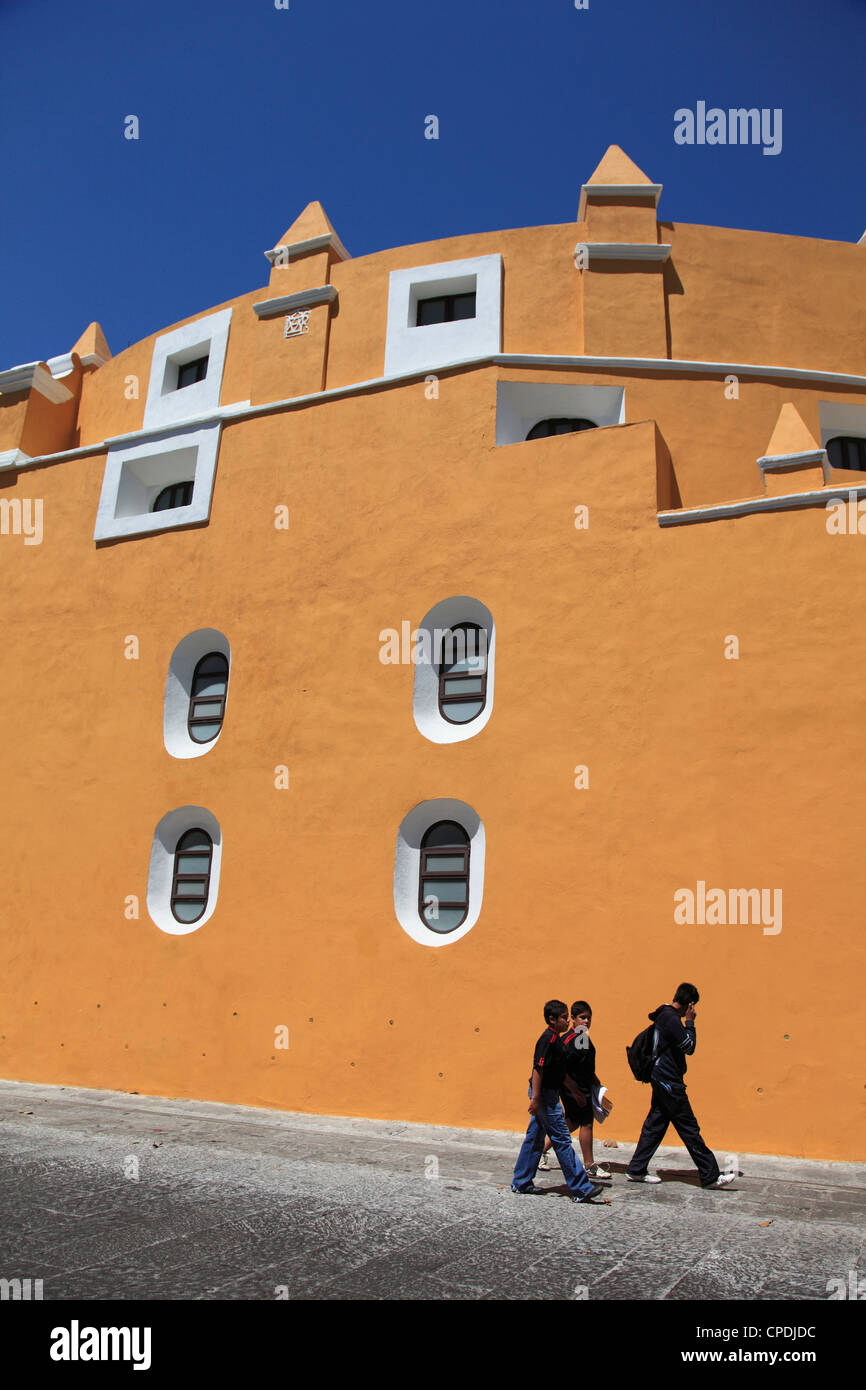 Street Scene, Puebla, Historic Center, UNESCO World Heritage Site, Puebla State, Mexico, North America - Stock Image