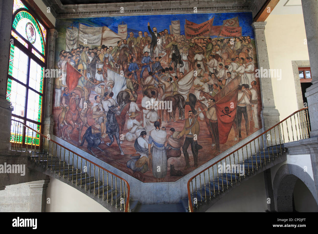 Mural El Castillo De Chapultepec Chapultepec Castle Chapultepec