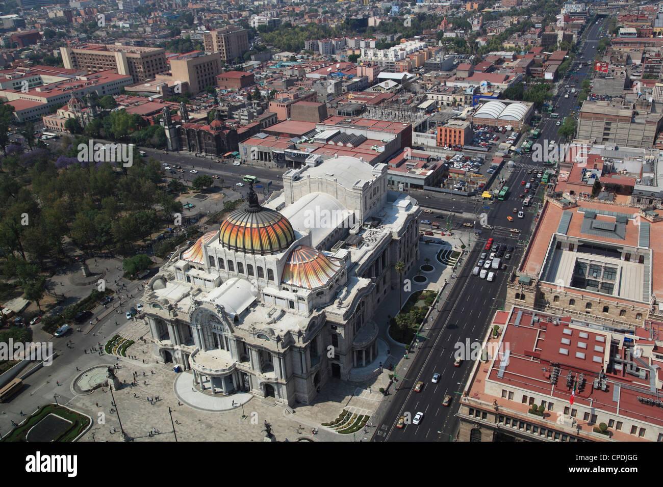 Palacio de Bellas Artes, Historic Center, Mexico City, Mexico, North America - Stock Image