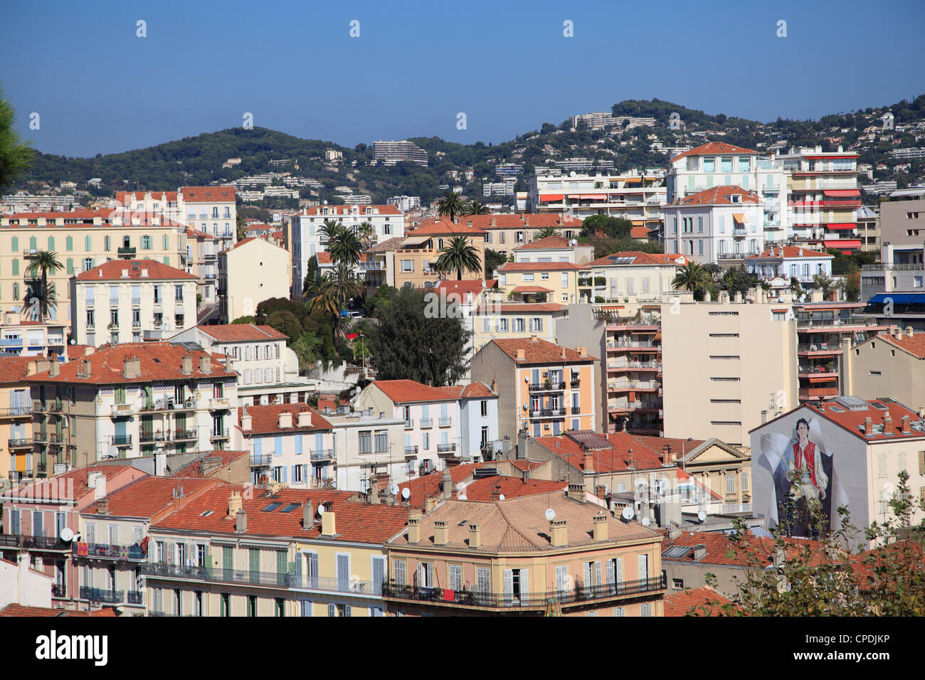 Cannes, Alpes Maritimes, Cote d'Azur, French Riviera, Provence, France, Europe - Stock Image
