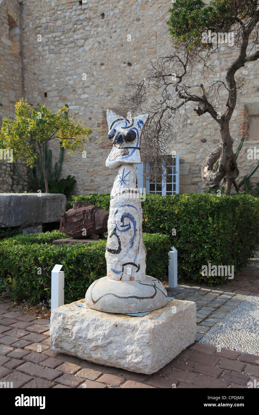 Picasso Museum, Old Town, Vieil Antibes, Antibes, Cote d'Azur, French Riviera, Provence, France, Europe - Stock Image