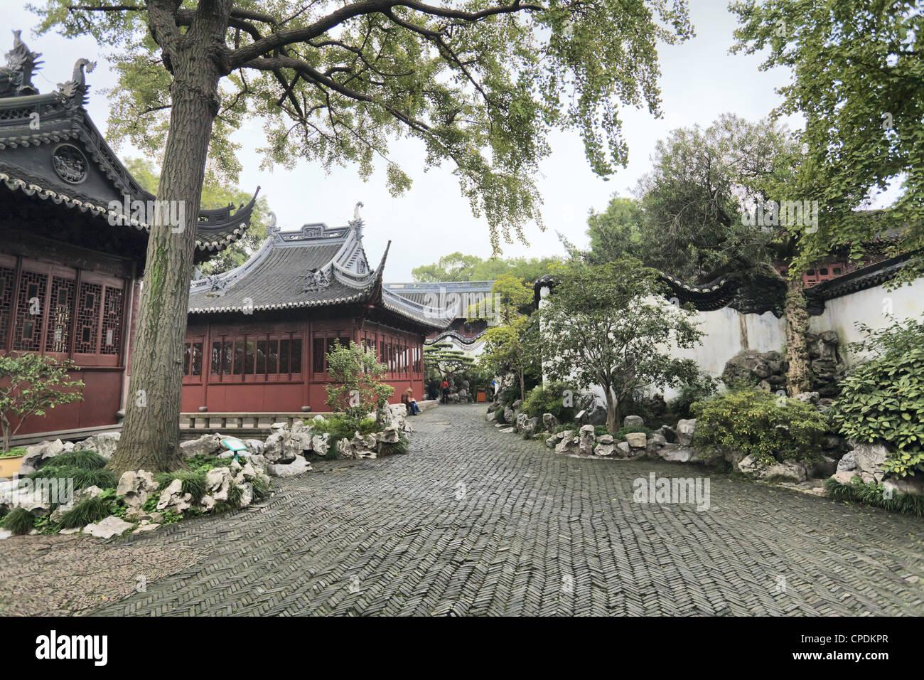 Yu Yuan (Yuyuan) Gardens, Shanghai, China, Asia - Stock Image