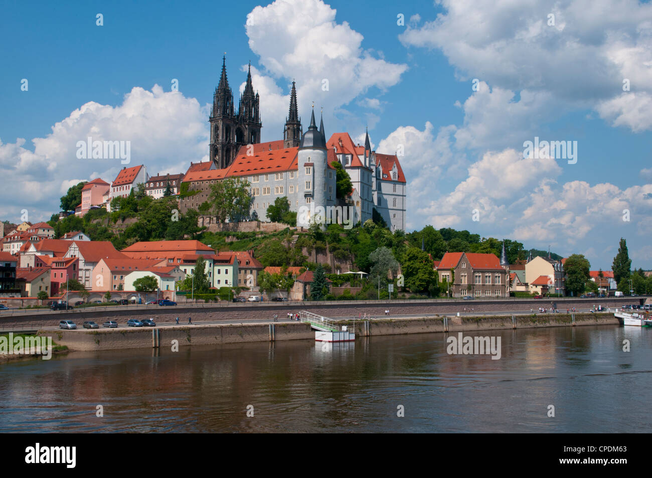 The town of Meissen, Saxony, Germany, Europe - Stock Image