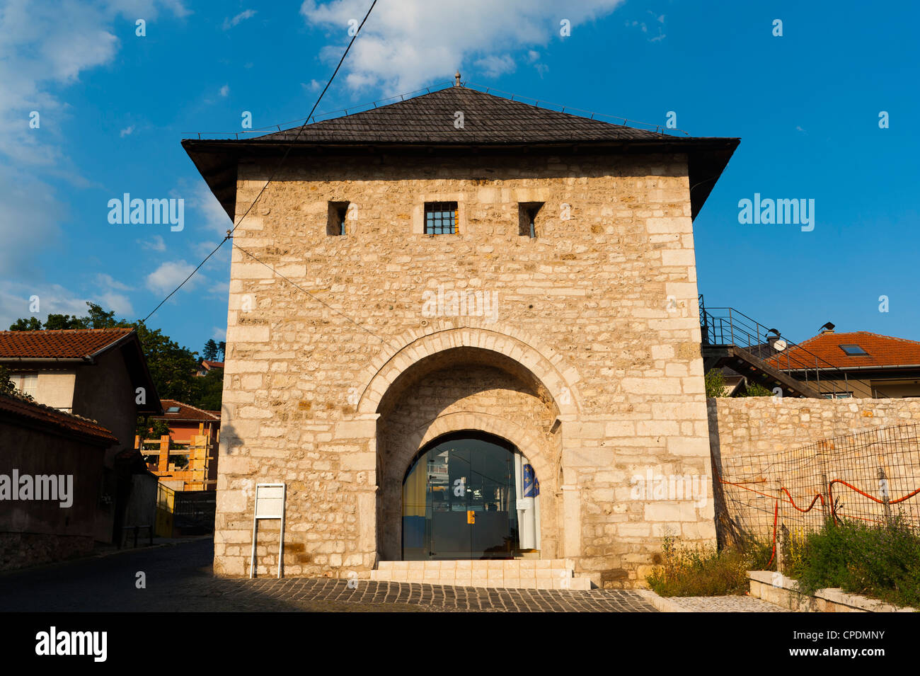 Ploce tower, Sarajevo, Bosnia and Herzegovina, Europe - Stock Image