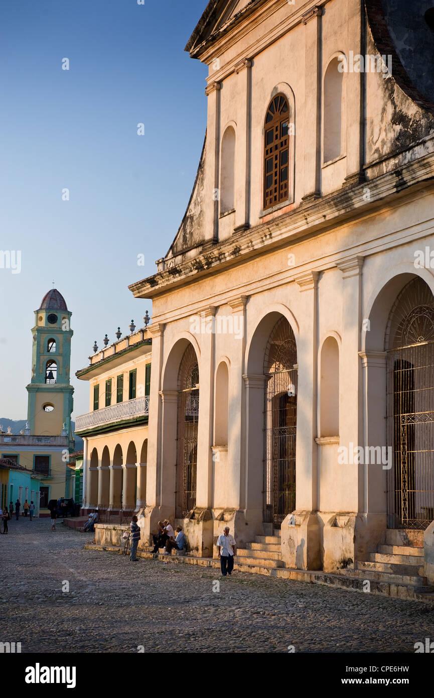 Iglesia Parroquial de la Santisima Trinidad, Trinidad, UNESCO World Heritage Site, Cuba, West Indies, Central America - Stock Image