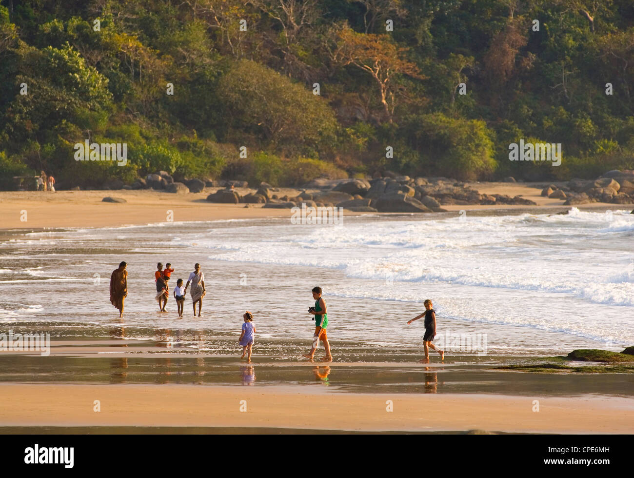 Agonda Beach, Goa, India, Asia - Stock Image