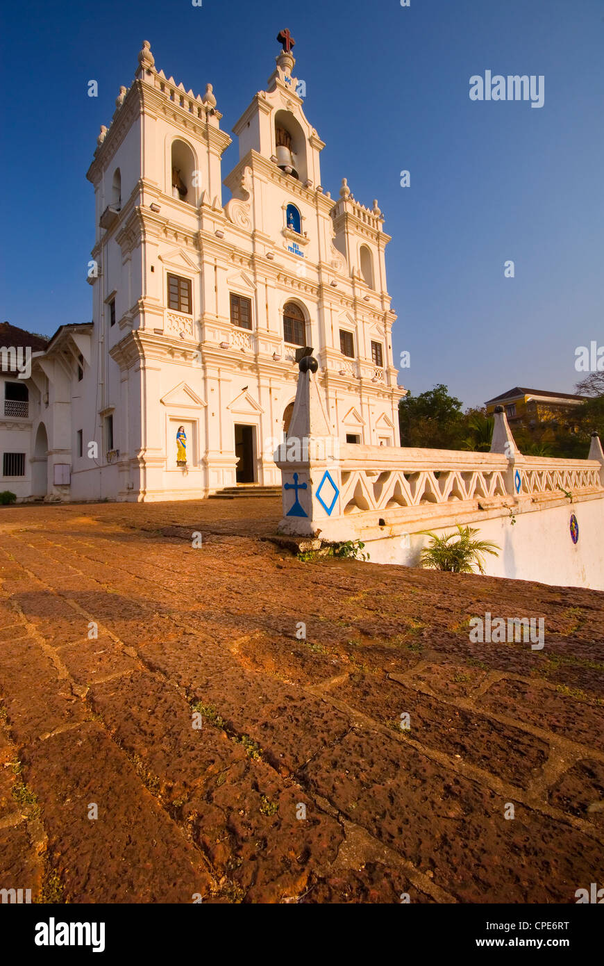 Church of Our Lady of the Immaculate Conception, UNESCO World Heritage Site, Panjim, Goa, India, Asia - Stock Image
