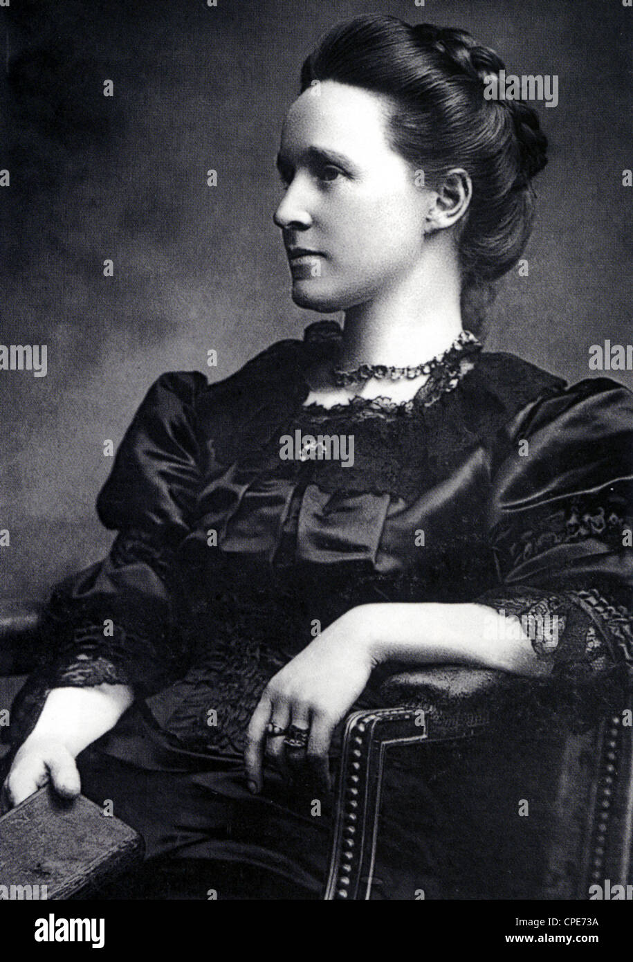 MILLICENT FAWCETT (1847-1929) English suffragist and feminist - Stock Image