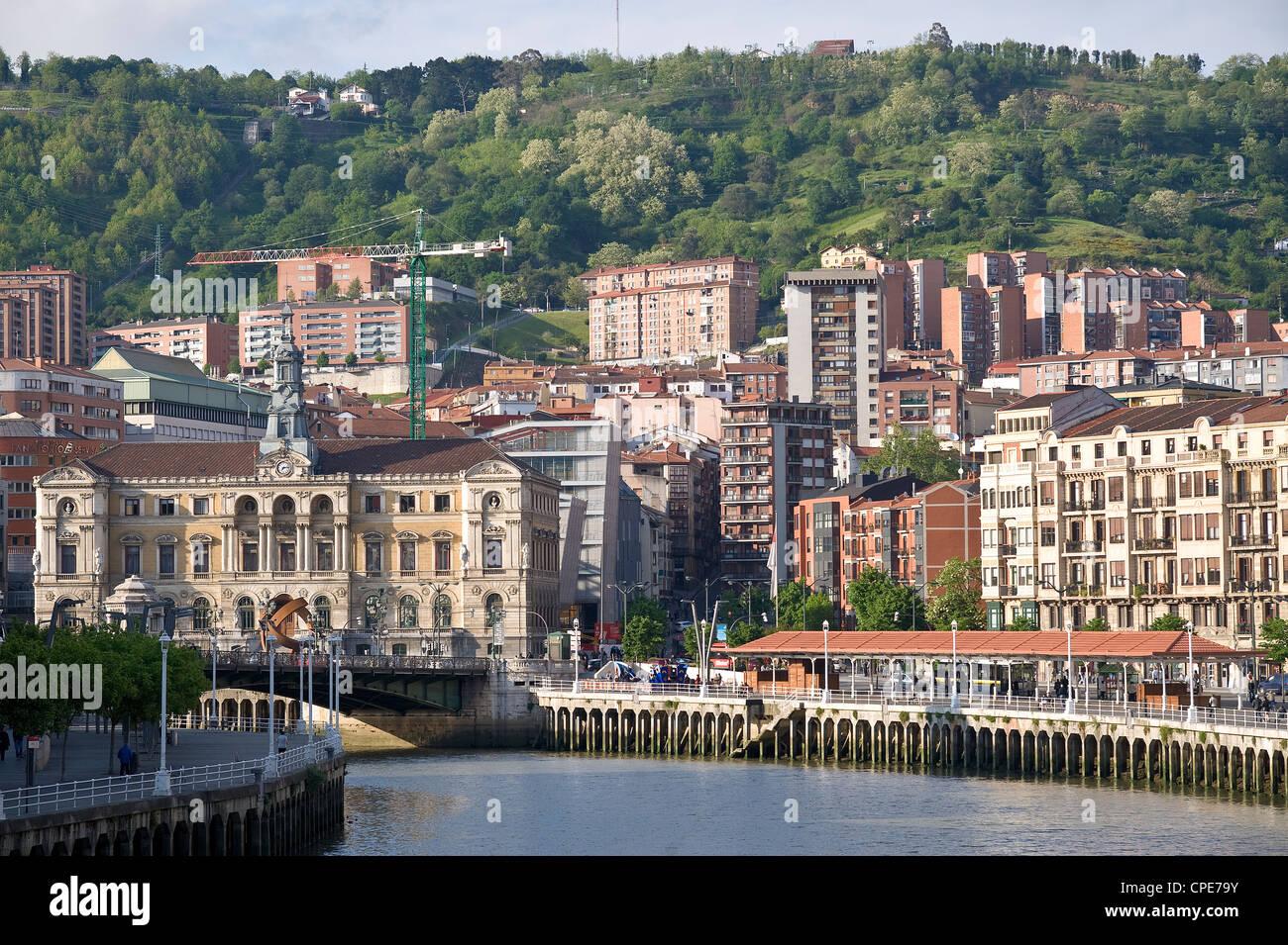 Bilbao, Euskal Herria, Euskadi, Spain, Europe - Stock Image
