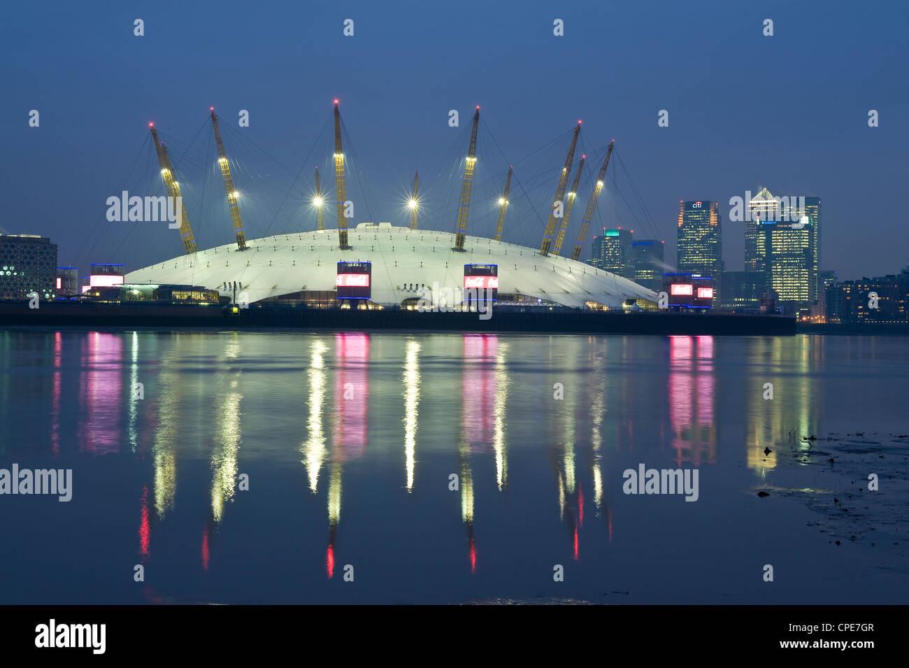 The O2 Arena, Docklands, London, England, United Kingdom, Europe - Stock Image