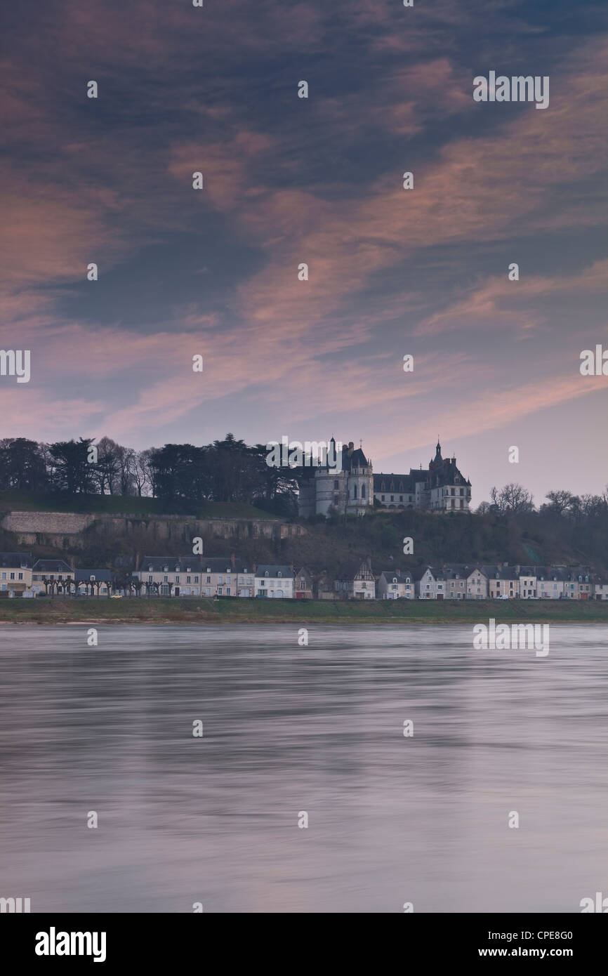 Chateau de Chaumont, UNESCO World Heritage Site, Chaumont-sur-Loire, Loir-et-Cher, France, Europe Stock Photo