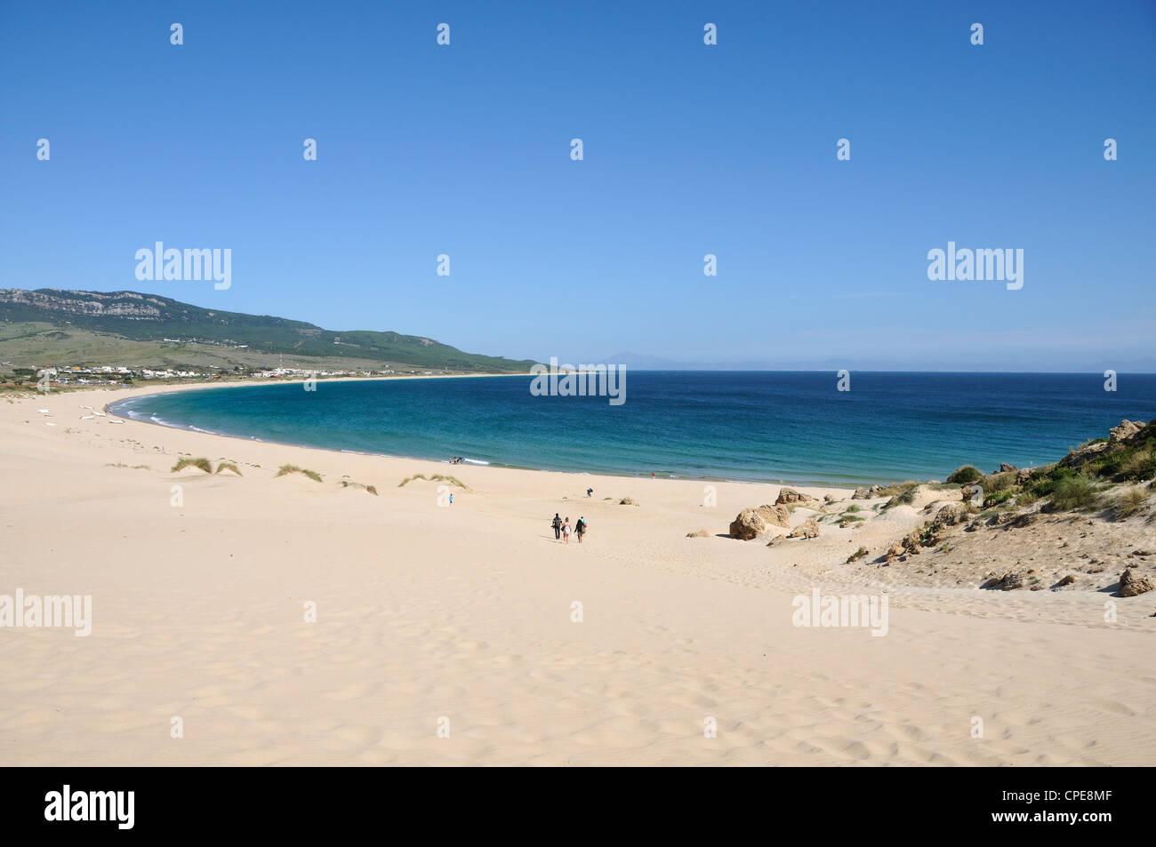 Bolonia Beach, Tarifa, Cadiz Province, Costa de la Luz, Andalusia, Spain Stock Photo
