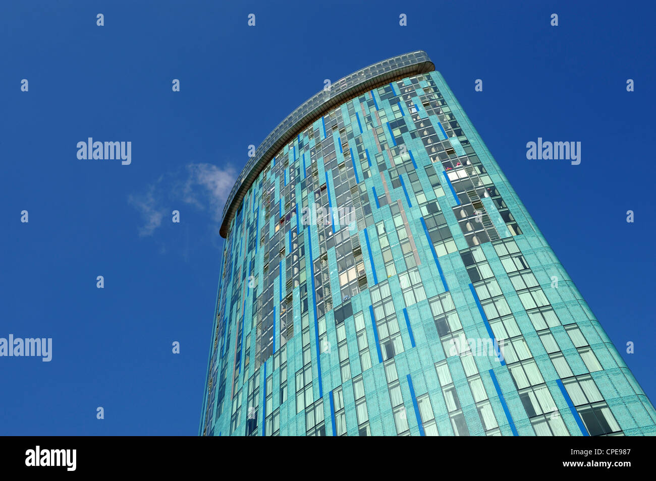Beetham Tower, Chinese Quarter, Birmingham, West Midlands, England, United Kingdom, Europe - Stock Image