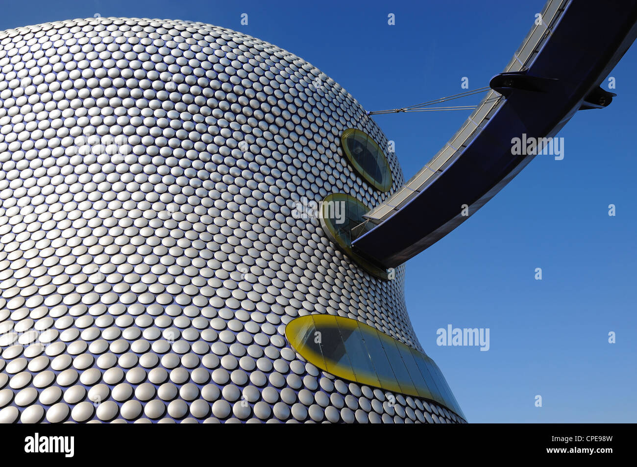 Selfridges Store exterior, Bullring Shopping Centre, Birmingham, West Midlands, England, United Kingdom, Europe - Stock Image