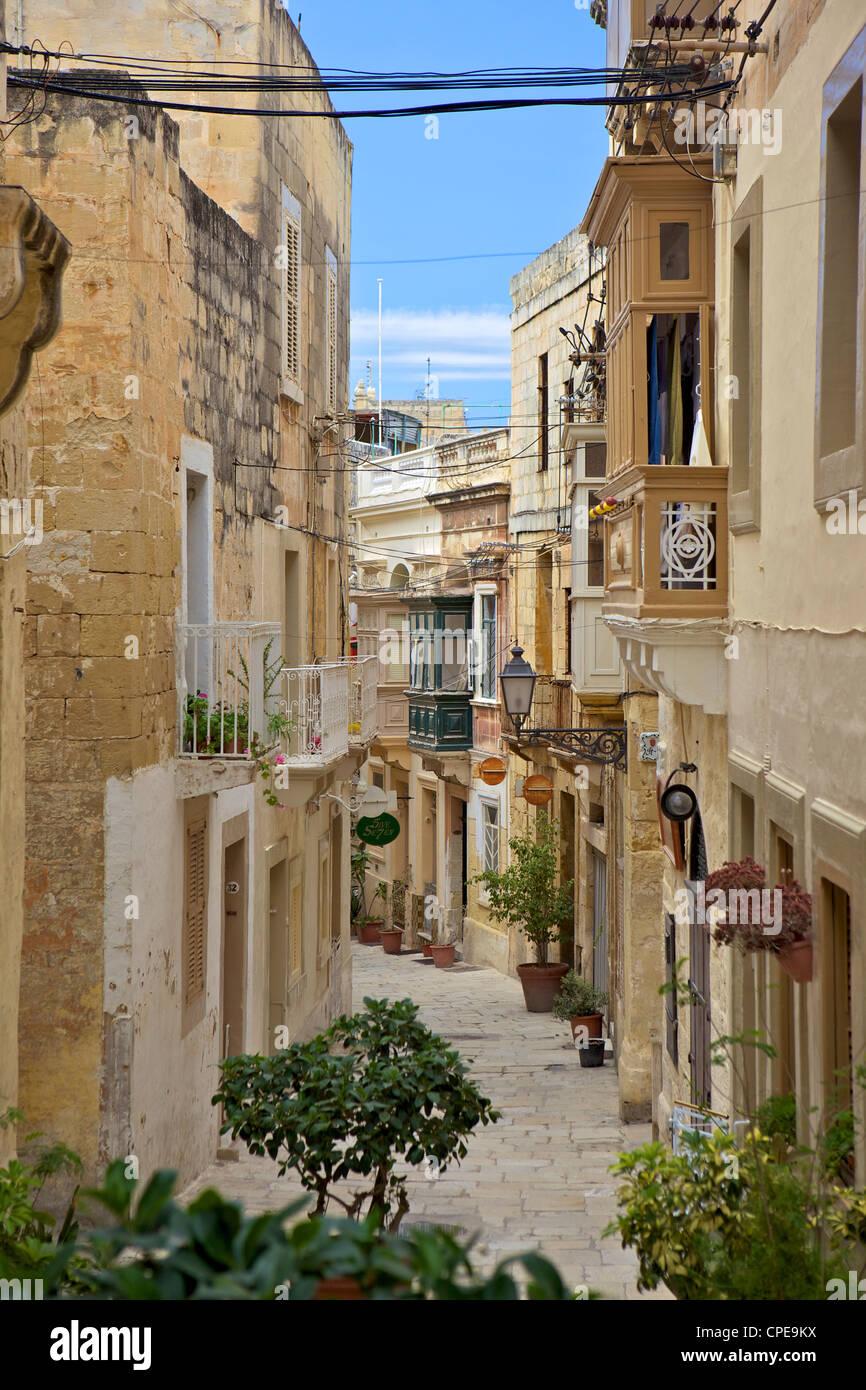 Valletta, Malta, Europe - Stock Image