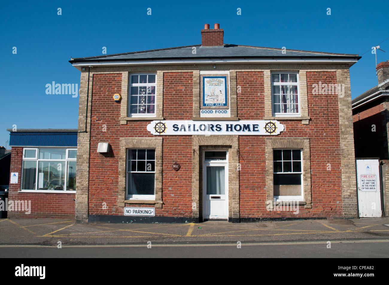 Sailors Home Pub, Kessingland, Suffolk, England - Stock Image