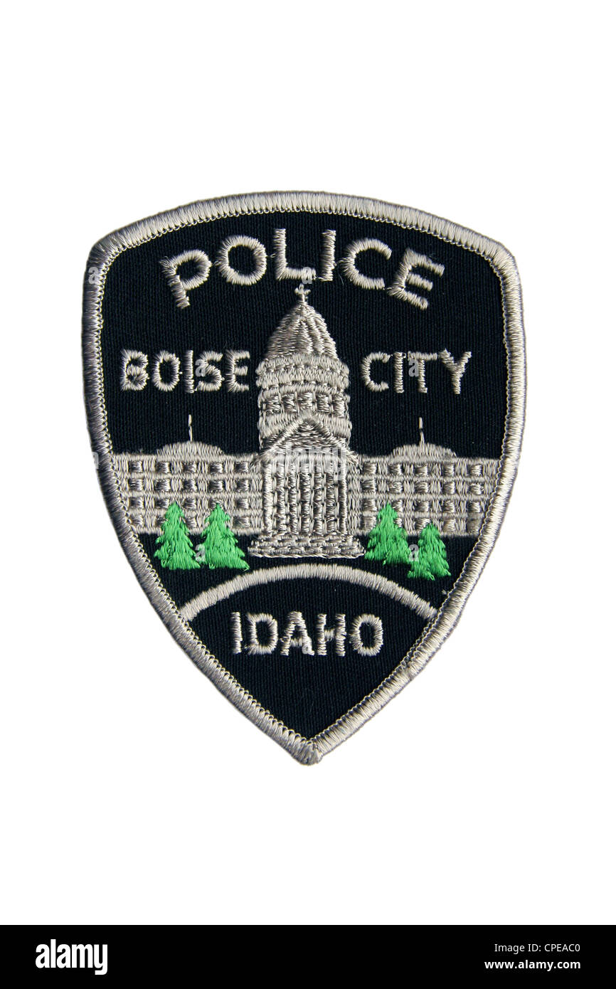Boise City Police Department patch - Stock Image