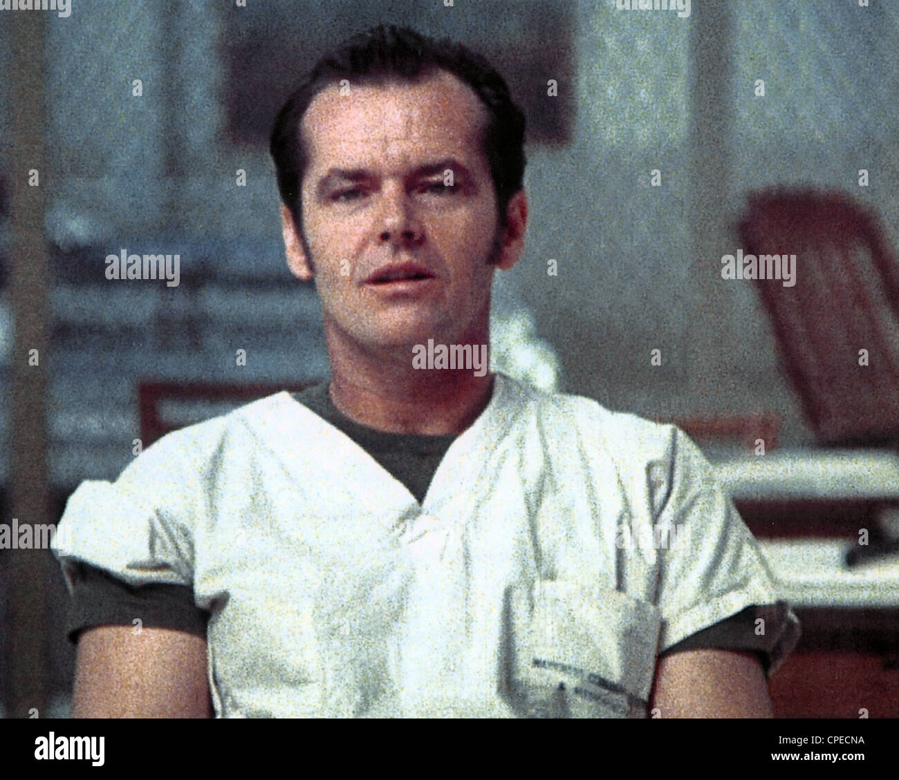 ONE FLEW OVER THE CUCKOO'S NEST 1975 United Artists film with Jack Nicholson - Stock Image