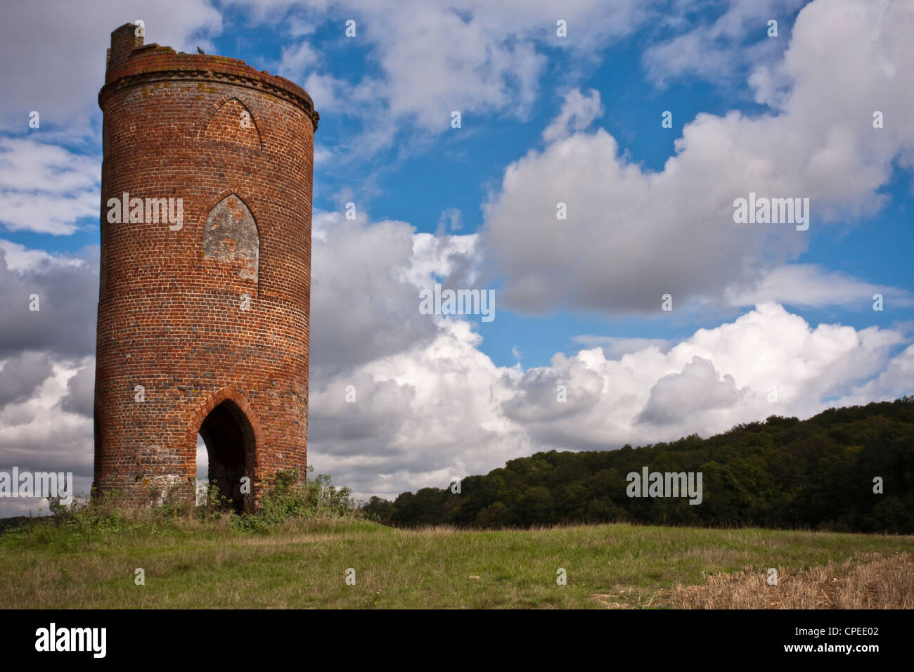 Wilder's Folly, Sulham, near Reading, Berkshire. - Stock Image