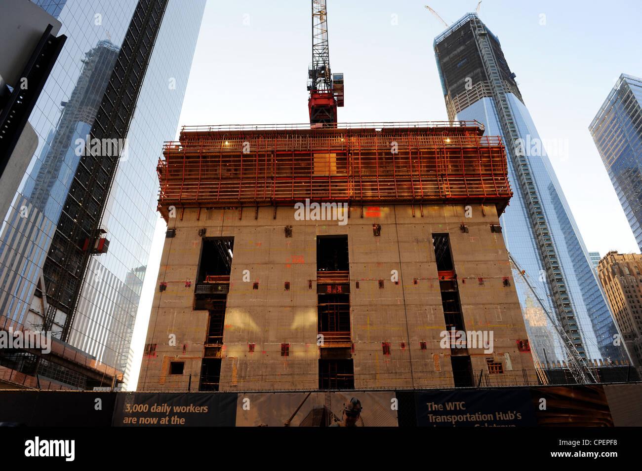 Tower 4, WTC, New York - Stock Image