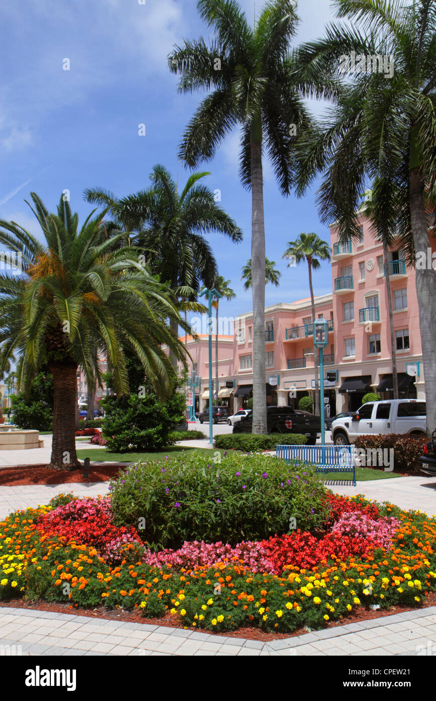 Boca Raton Shopping >> Boca Raton Florida Mizner Park Plaza Real Upscale Shopping Palm