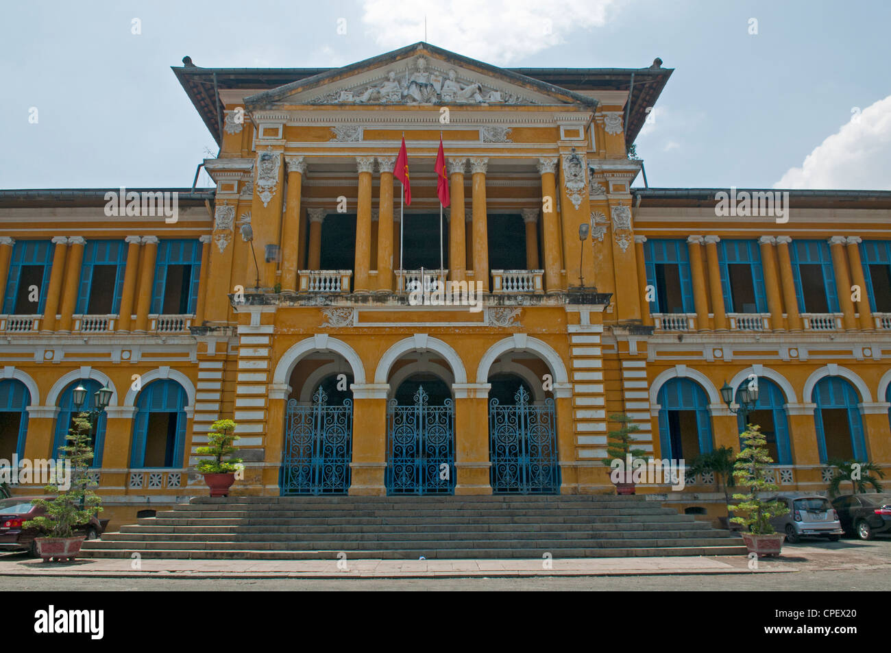 Colonial Architecture In Ho Chi Minh City Vietnam Stock Photo Alamy