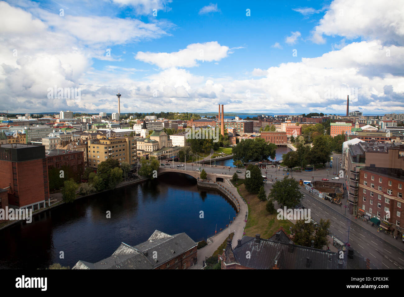 Architecture of  Tampere Finland - Stock Image