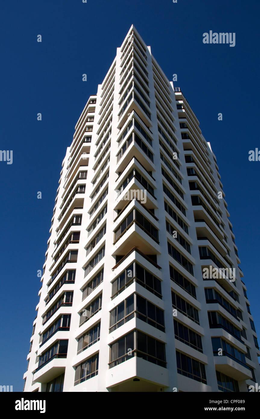 Modern architecture Vina del Mar Chile - Stock Image