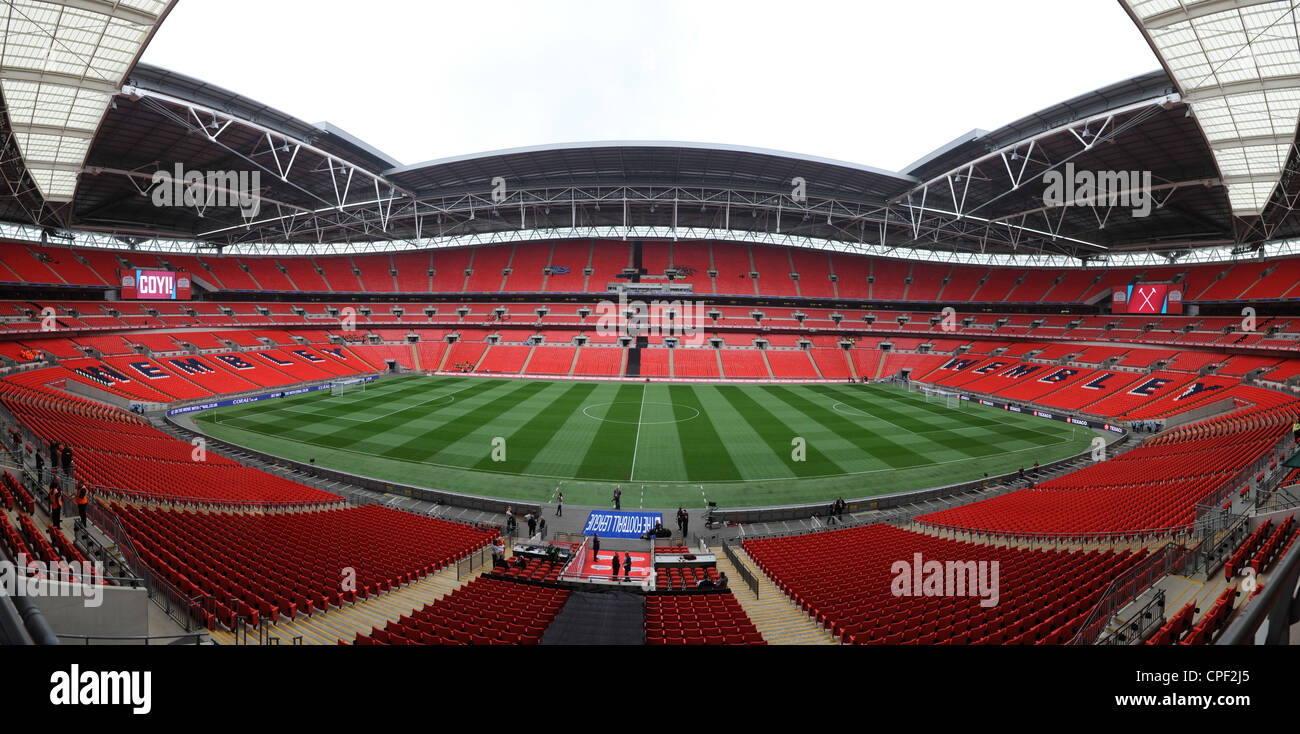 Wembley stadium England Uk - Stock Image