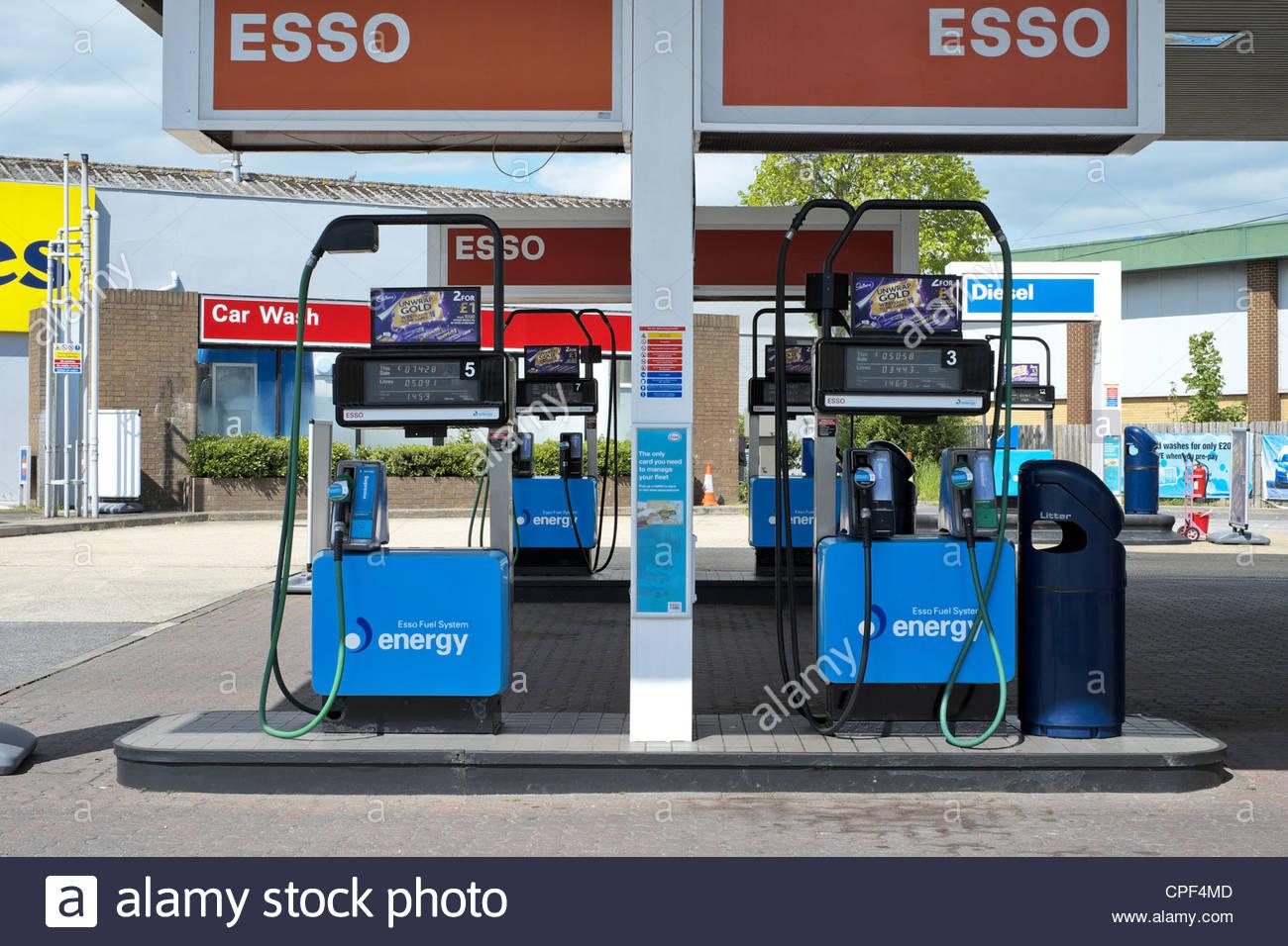 Esso Gas Station Car Wash