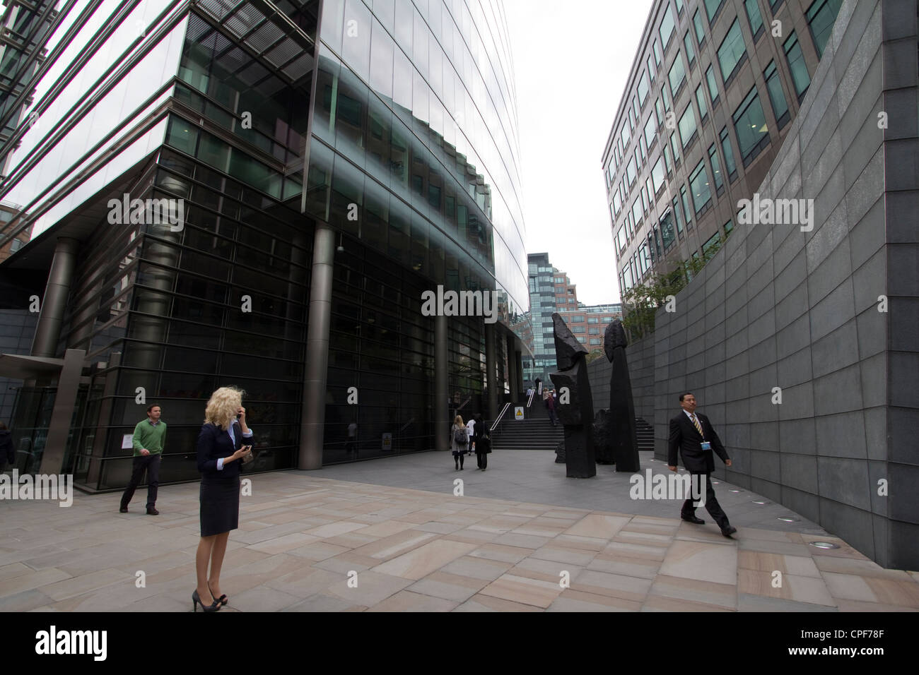 Broadgate office complex - Stock Image