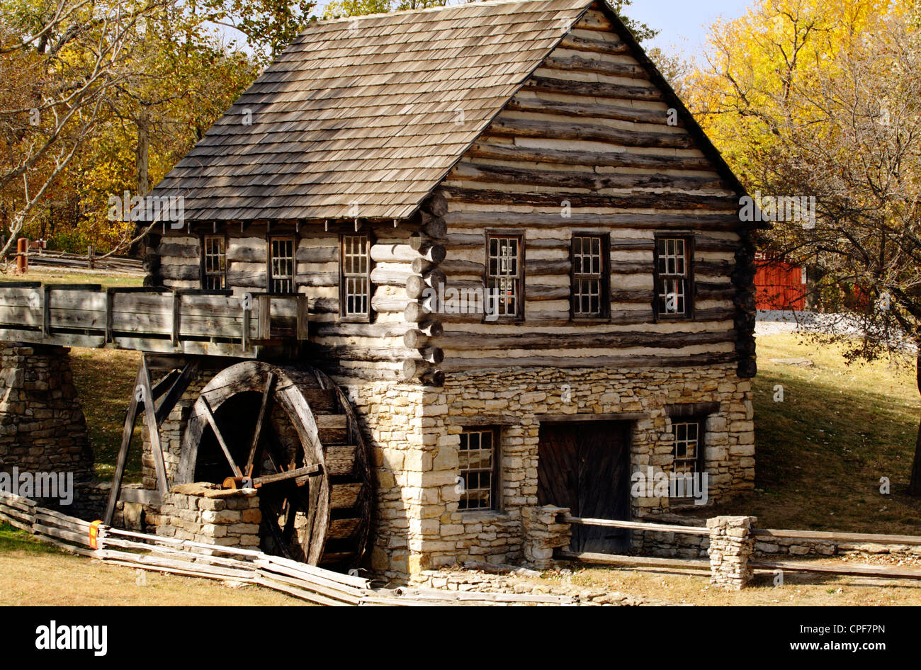 Hodge Park Mill - Stock Image